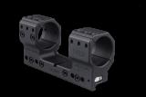 Spuhr Montáž pro puškohled s tubusem 34 mm, výška 38 mm, sklon 6 MRAD, větší vzdálenost mezi kroužky
