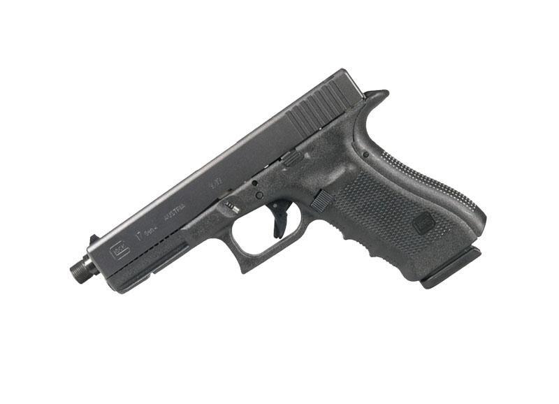 Pistole Glock 17 Gen4 s hlavní se závitem M13,5x1 levý ráže 9 mm Luger
