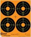 """Terče - Orange Peel Bullseye 4"""" 100 ks"""