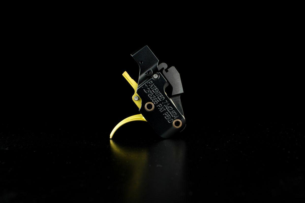 Spoušťový mechanizmus AR GOLD s oblým lučíkem pro AR-10 ATC
