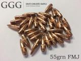 Střela GGG .223 (55grn FMJ dia .224) (baleno po 1000ks)
