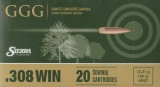 GGG náboj .308 WIN - střela Sierra MatchKing 190grn HPBT