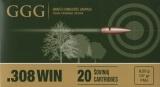 GGG náboj .308 WIN - FMJ 147grn GGG