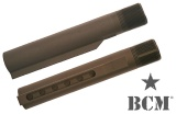 BCM Carbine Milspec Receiver Extension (Buffer Tube) 6 Position