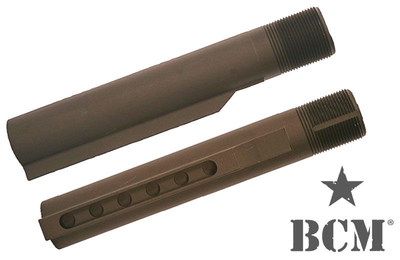 BCM Carbine Milspec Receiver Extension (Buffer Tube) 6 Position Bravo Company