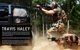 Přední rukojeť BCM GUNFIGHTER Kinesthetic Angled Grip - KeyMod - FDE Bravo Company