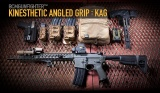 BCMGUNFIGHTER™ Kinesthetic Angled Grip - KeyMod™ - Wolf Gray Bravo Company
