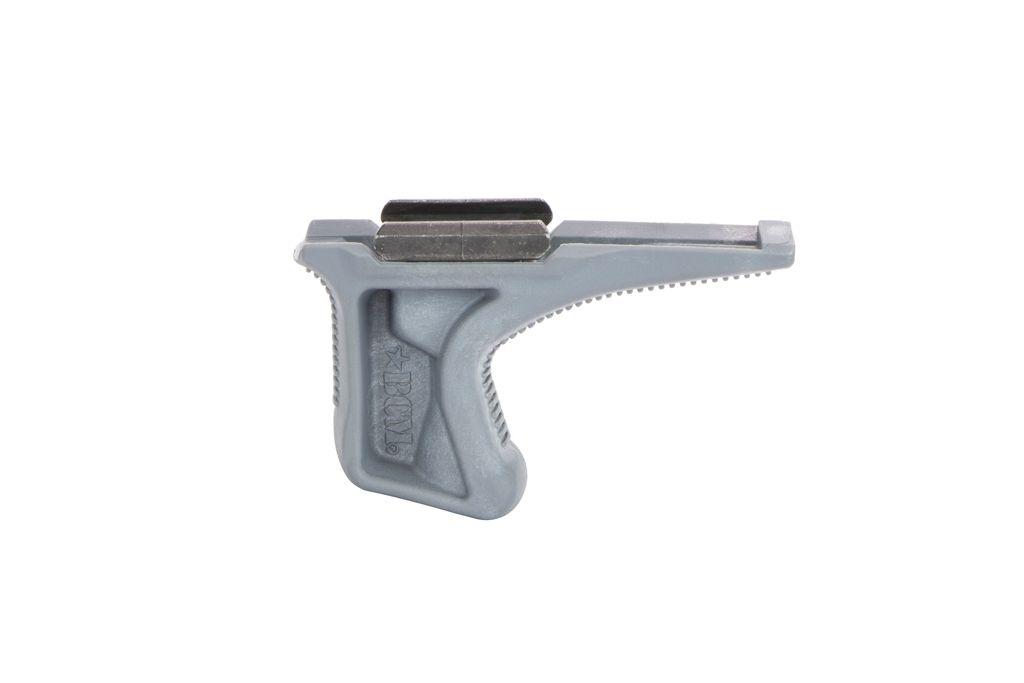 Přední rukojeť BCM GUNFIGHTER Kinesthetic Angled Grip - Picatinny - šedá Bravo Company