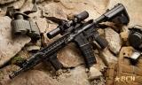 Přední rukojeť BCM GUNFIGHTER Vertical Grip - picatinny - s úložným prostorem - zelená Bravo Company