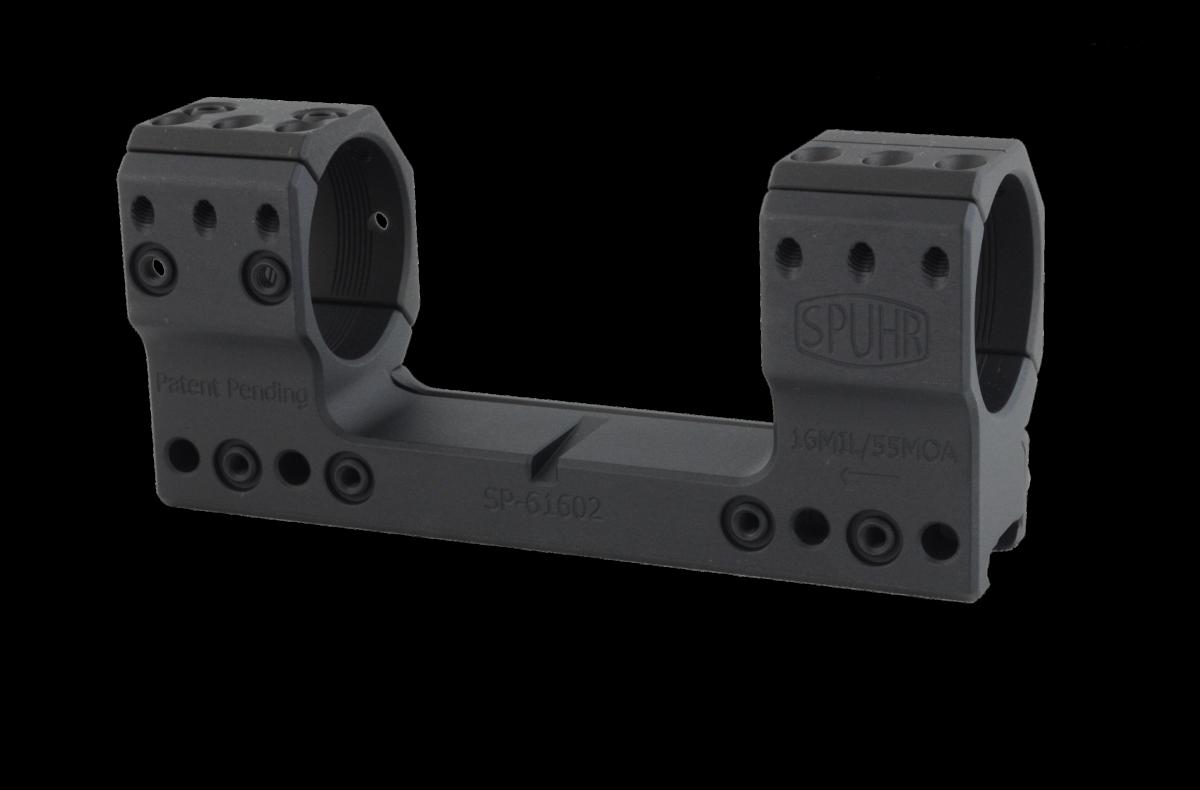 Spuhr Montáž pro puškohled s tubusem 36 mm, výška 38 mm, sklon 16 MRAD