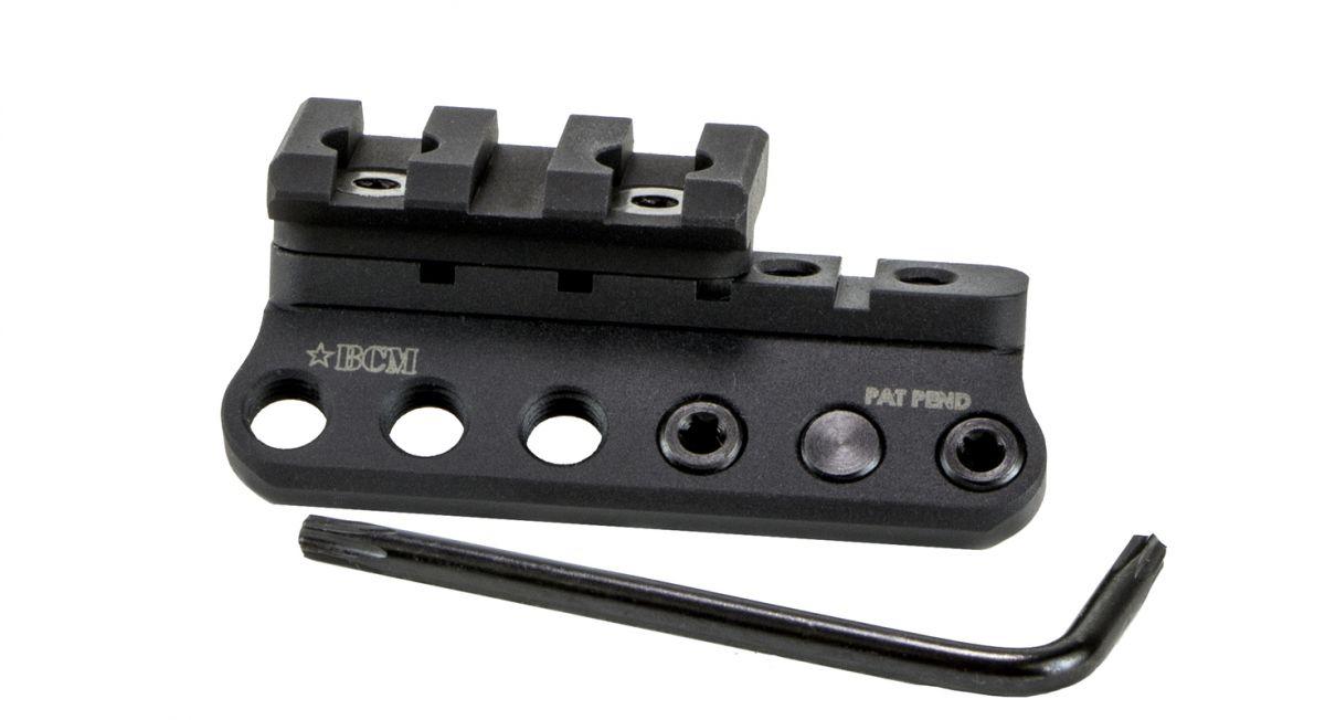 BCM Montáž na svítilnu na bázi KeyMod s RIS lištou Bravo Company