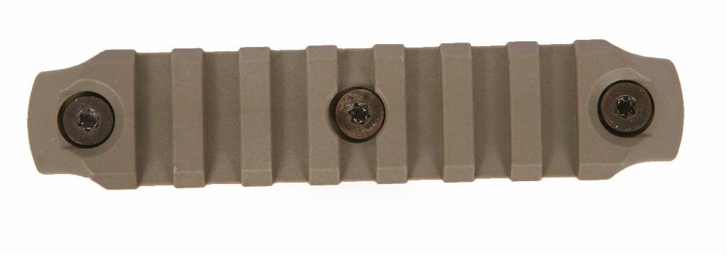 """Picatinny lišta nylonová BCM GUNFIGHTER na KeyMod 3"""" - zelená Bravo Company"""