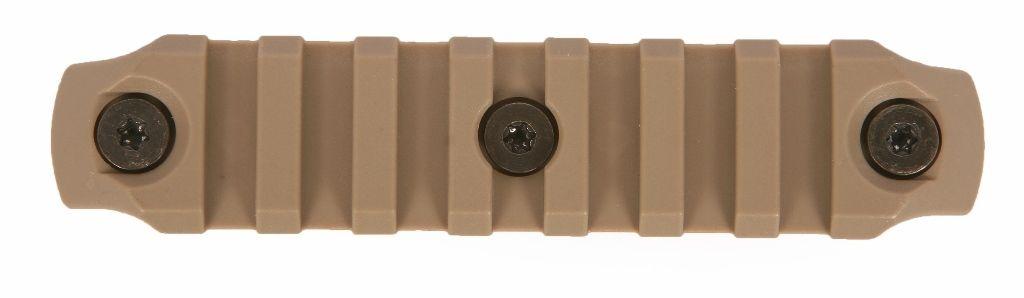BCMGUNFIGHTER™ KeyMod Nylon Rail, 4-inch - Flat Dark Earth Bravo Company