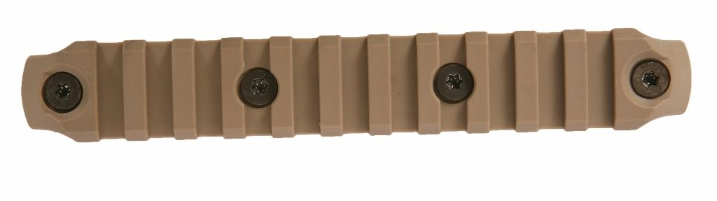 BCMGUNFIGHTER™ KeyMod Nylon Rail, 5.5-inch - Flat Dark Earth Bravo Company