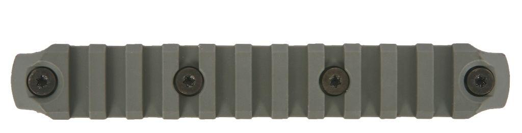 BCMGUNFIGHTER™ KeyMod Nylon Rail, 5.5-inch - Foliage Green Bravo Company