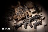 BCMGUNFIGHTER™ KeyMod Rail - ALPHA, 5.56, 10-inch - Black Bravo Company