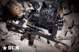 """Předpažbí BCM GUNFIGHTER KeyMod - ALPHA, 5.56, 15"""" - černé Bravo Company"""