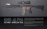 BCMGUNFIGHTER™ KeyMod Rail - ALPHA, 5.56, 8-inch - Black Bravo Company