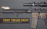 BCMGUNFIGHTER™ KeyMod Rail Panel Kit, 5.5-inch - Black (5 pack) Bravo Company