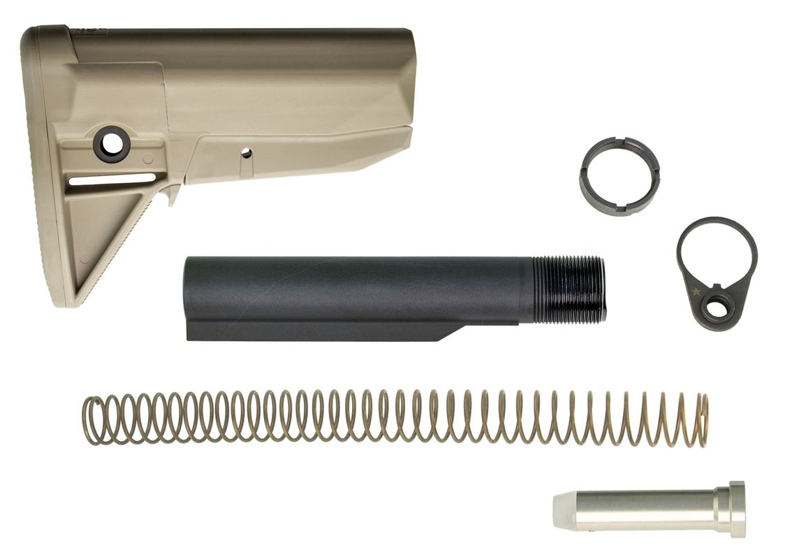 BCMGUNFIGHTER™ Stock Kit - Mod 0 - Flat Dark Earth Bravo Company