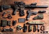 BCMGUNFIGHTER™ Stock Kit - Mod 0 - Foliage Green Bravo Company