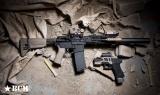 Set pažbení BCM GUNFIGHTER - Mod 0 - černý Bravo Company