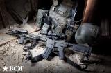 Přední rukojeť BCM GUNFIGHTER Vertical Grip - KeyMod - Mod 3 - FDE Bravo Company