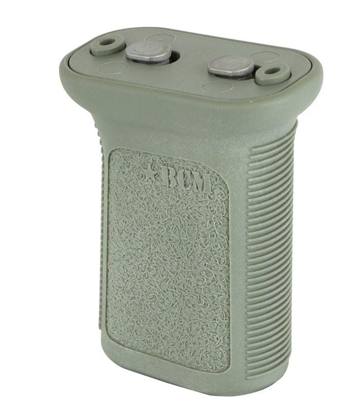 Přední rukojeť BCM GUNFIGHTER Vertical Grip - KeyMod - Mod 3 - zelená Bravo Company