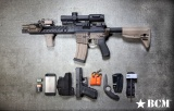 BCMGUNFIGHTER™ Vertical Grip - Short - KeyMod™ - Flat Dark Earth Bravo Company