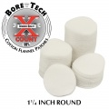 BoreTech X-Count Round Patches .22-.243 (250 pcs)