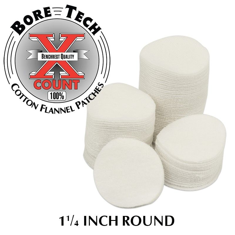 Bore Tech's X-Count Patches .22-.243