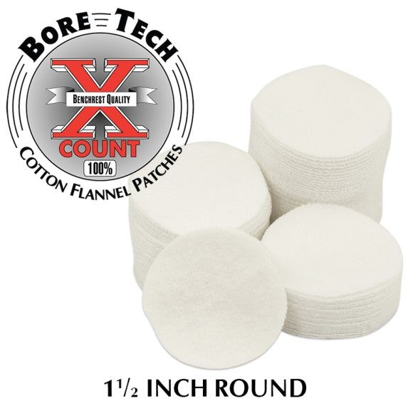 Bore Tech's X-Count Patches .25-.284