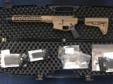 "AR-15 Hera Arms - 11,5"" (cerakote + pažba: Magpul MOE SL) KeyMod předpažbí"