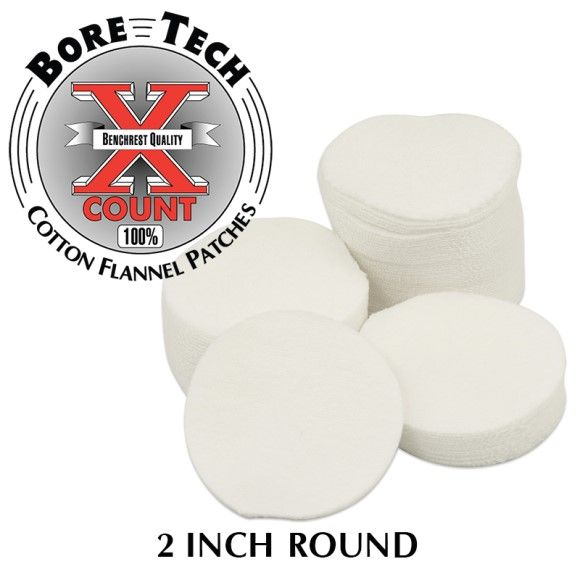 Bore Tech's X-Count Patches .308-.338