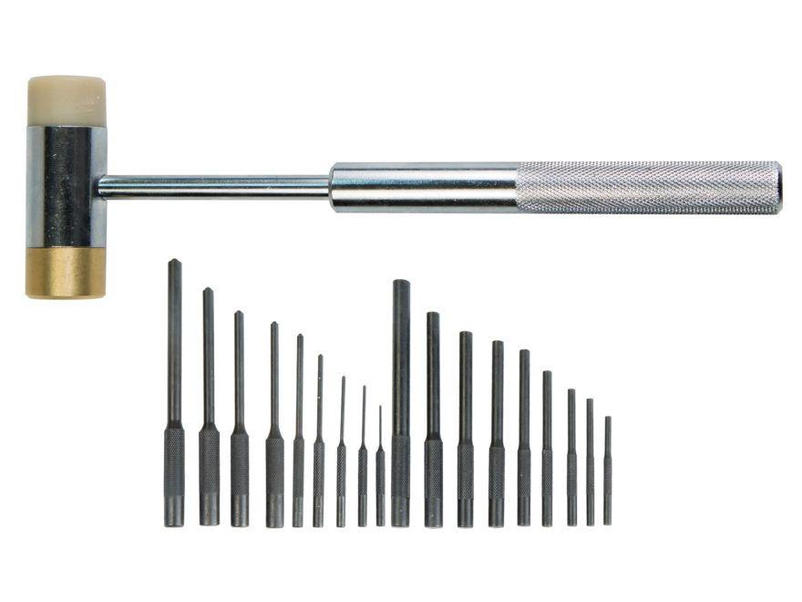 Sada vyrážecích čepů s kladívkem Master Roll Pin Punch Set Wheeler Engineering