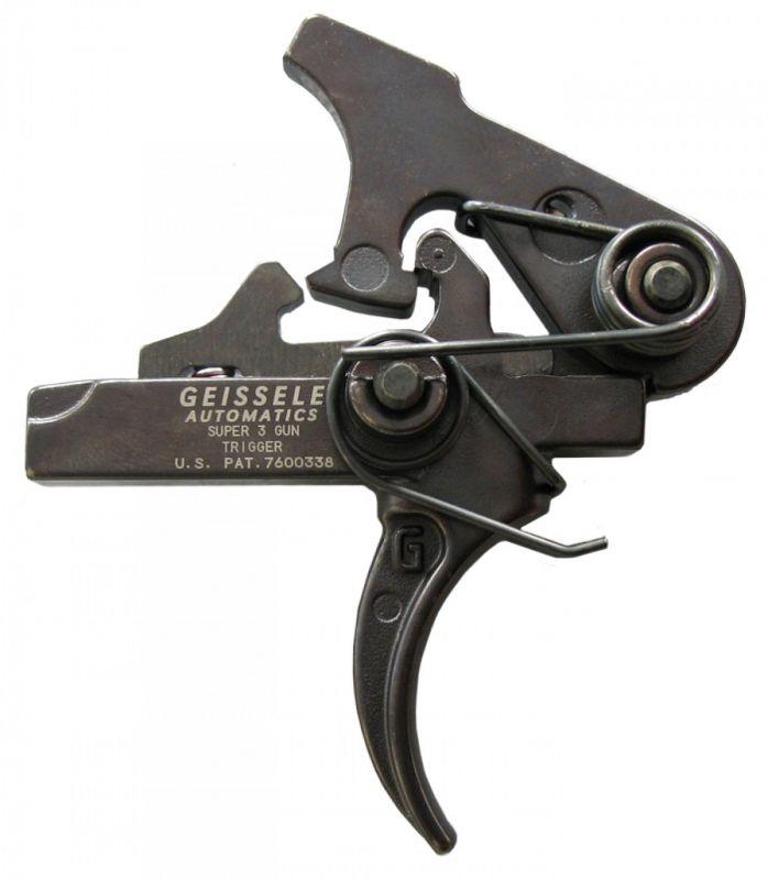 Spoušťový mechanismus Geissele Automatics Super 3 Gun pro AR-15