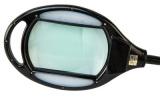 Stolní puškařská lupa s LED nasvícením (400 Lumenů) Wheeler Engineering