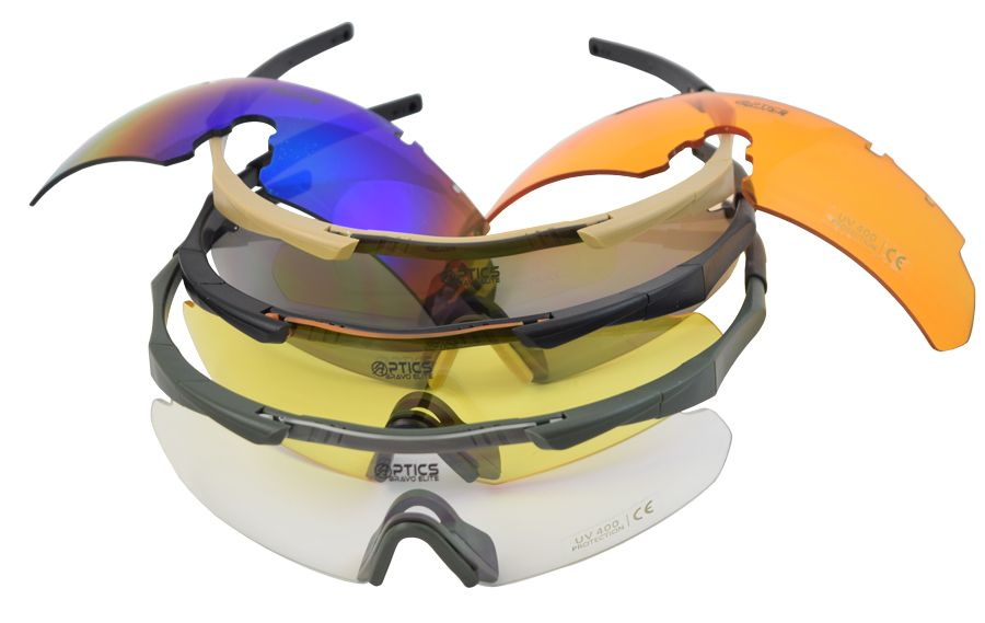 Střelecké brýle DAA Elite Set Double Alpha