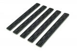 "BCMGUNFIGHTER™ M-LOK Rail Panel Kit, 5.5"" - Black (5 pack)"