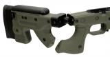 AT AICS kit (sklopný krátký) pro Remington 700 - pro levoruké střelce a s otvorem pro palec