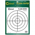 "Caldwell Jednoduché papírové terče 8"", balení 25ks"
