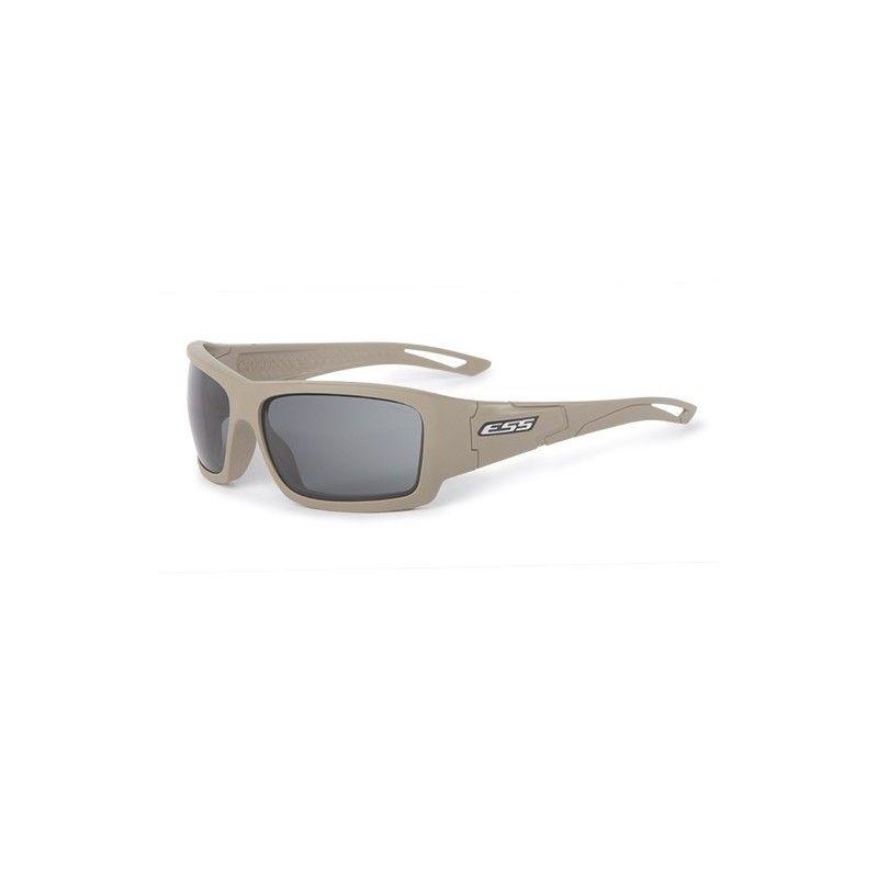 ESS Credence Terrain Tan, smoke Grey lens - silver logo