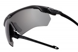 Ochranné brýle ESS Crossbow Suppressor 2X - dva černé rámy, dvě skla - čirá, kouřová