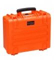 Taktický kufr Explorer 445x345x190mm - oranžový bez výplně