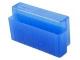 Krabička na 20 nábojů (6mmRem, 250Sav, 22-250Rem, 7.62x39, 445SuperMag) - modrá