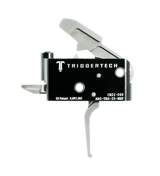 AR0-TBS-25-NNF   TriggerTech AR15 Adaptable Straight SS