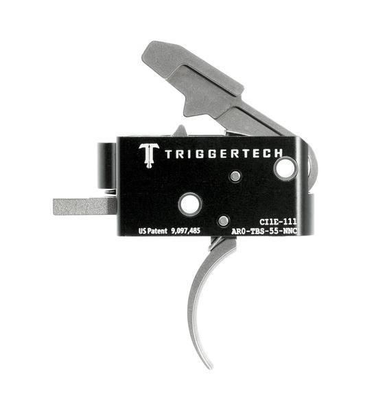 AR0-TBS-55-NNC   TriggerTech AR15 Combat Curved SS