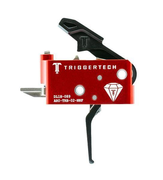 AR0-TRB-14-NNF   TriggerTech AR15 Diamond Straight Black