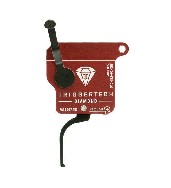 R70-SRB-02-TNF   TriggerTech Rem700 Diamond Straight Black