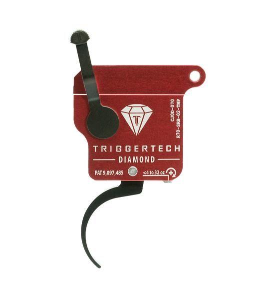 R70-SRB-02-TNP   TriggerTech Rem700 Diamond Pro Curved Black